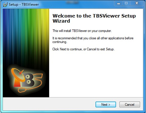 "Click "" Install TBSviewer "" from CD auto-run to start installation ..."