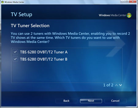 How to Use Windows 7 Media Center to watch DVB-T/T2 TV channels ...