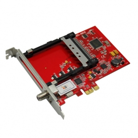 TBS6618 DVB-C TV Tuner CI PCIe Card (The Successor:TBS6290SE)