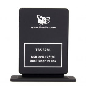 TBS5281 DVB-T2/T/C Dual Tuner TV USB Box