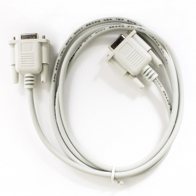 1.25m female to female serial DB9 pin RS232 data cable