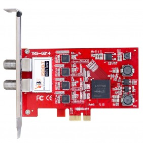 TBS6814 ISDB-T Quad Tuner PCIe Card, receiving SBTVD TV and digital terrestrial TV channels
