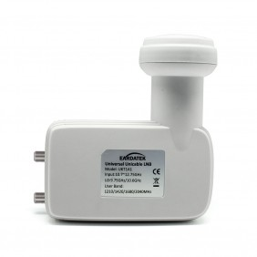 UKT1A1 Universal Unicable high gain & low noise Twin LNB