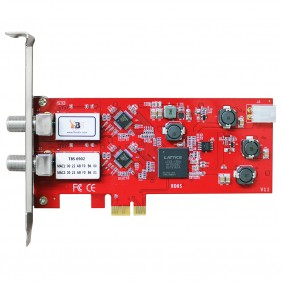 TBS6902 DVB-S2 Dual Satellite HD TV Tuner PCIe Card
