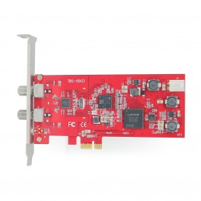 TBS6903 Professional DVB-S2 Dual Tuner PCIe Card,compatible with EUMETCast