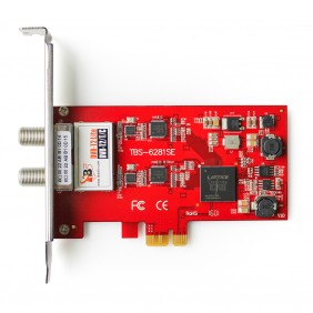 TBS6281SE DVB-T2/T/C TV Tuner PCIe Card,Terrestrial & Cable PCIe Card