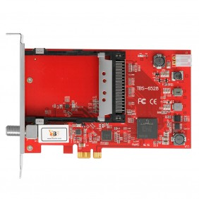 TBS6528 Multi Standard Tv Tuner Common Interface (CI) PCI-e Card,DVB-S2/S, DVB-T2/T,DVB-C2/C, DVB-S2X and ISDB-T