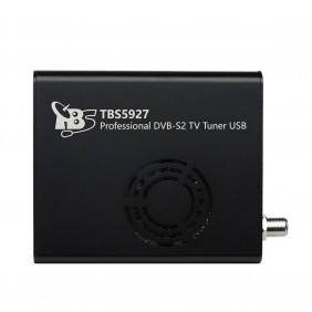 TBS5927 Professional DVB-S2 TV Tuner USB,compatible with EUMETCast,CCM, VCM, ACM and Multi Input Stream support