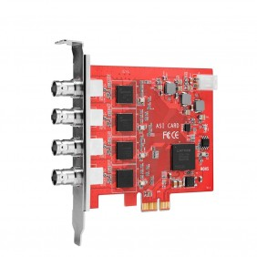 TBS690A 4 Input DVB-ASI Capture Card, ASI to IP conversion