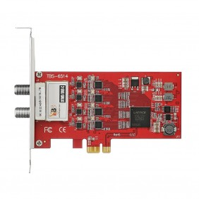 TBS6514 DTMB/DVB-C Quad Tuner PCI-E Card, recording digital terrestrial multimedia TV programs