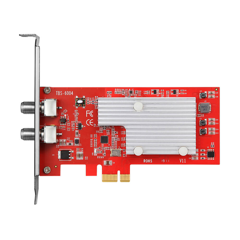 TBS6004 DVB-C Quad Modulator Card
