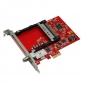 TBS6618 DVB-C TV Tuner CI PCIe Card
