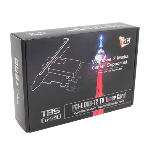 TBS TBS6220 DVB-T/T2 TV Tuner Drivers for Mac